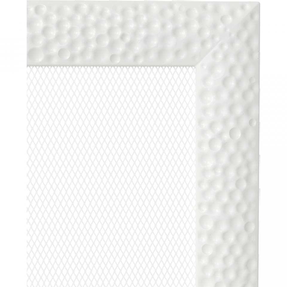 Grila aerisire VENUS ALB 17x17