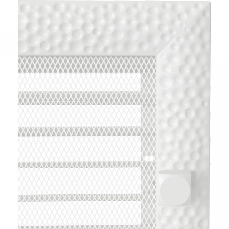 Grila aerisire reglabila VENUS ALB 22x37