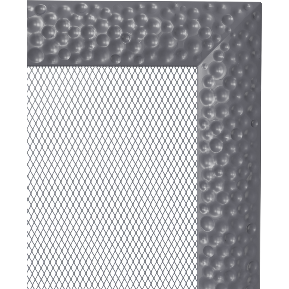 Grila aerisire VENUS GRAPHIT 17x49