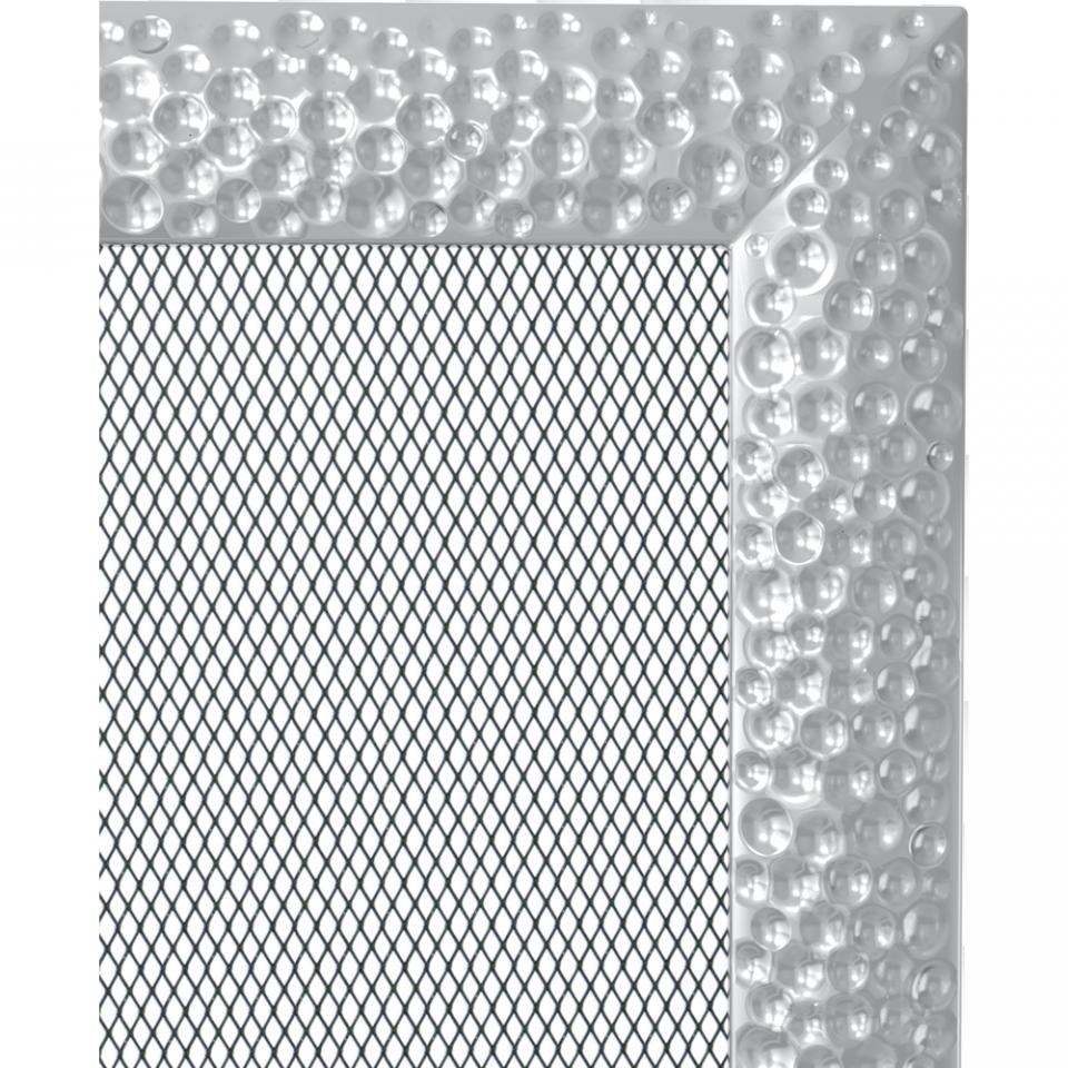 Grila aerisire VENUS NICHEL 22x45