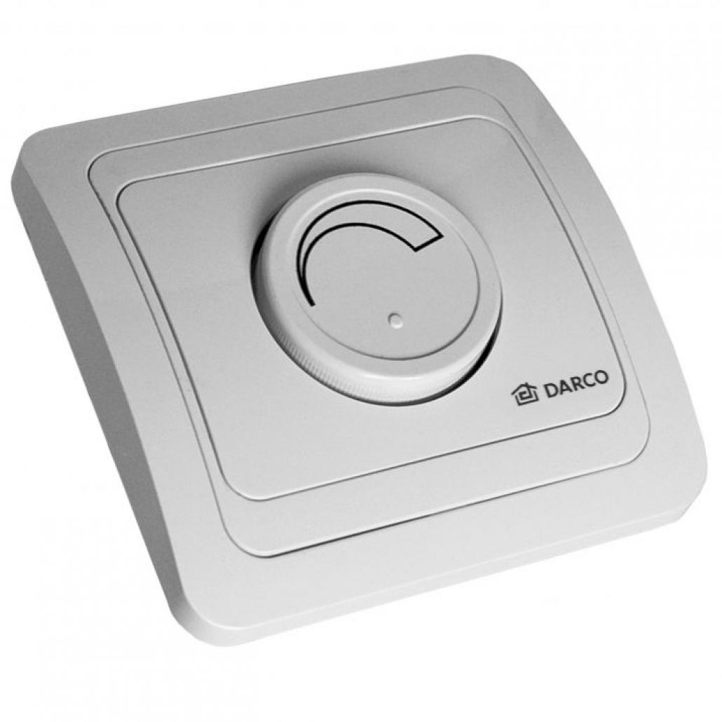 Regulator simplu incastrat - turatie ventilator aer / fum