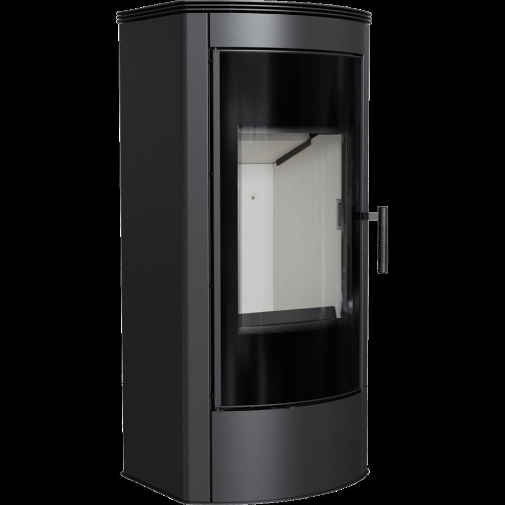 Soba Titan modern semirotund - 11 kW