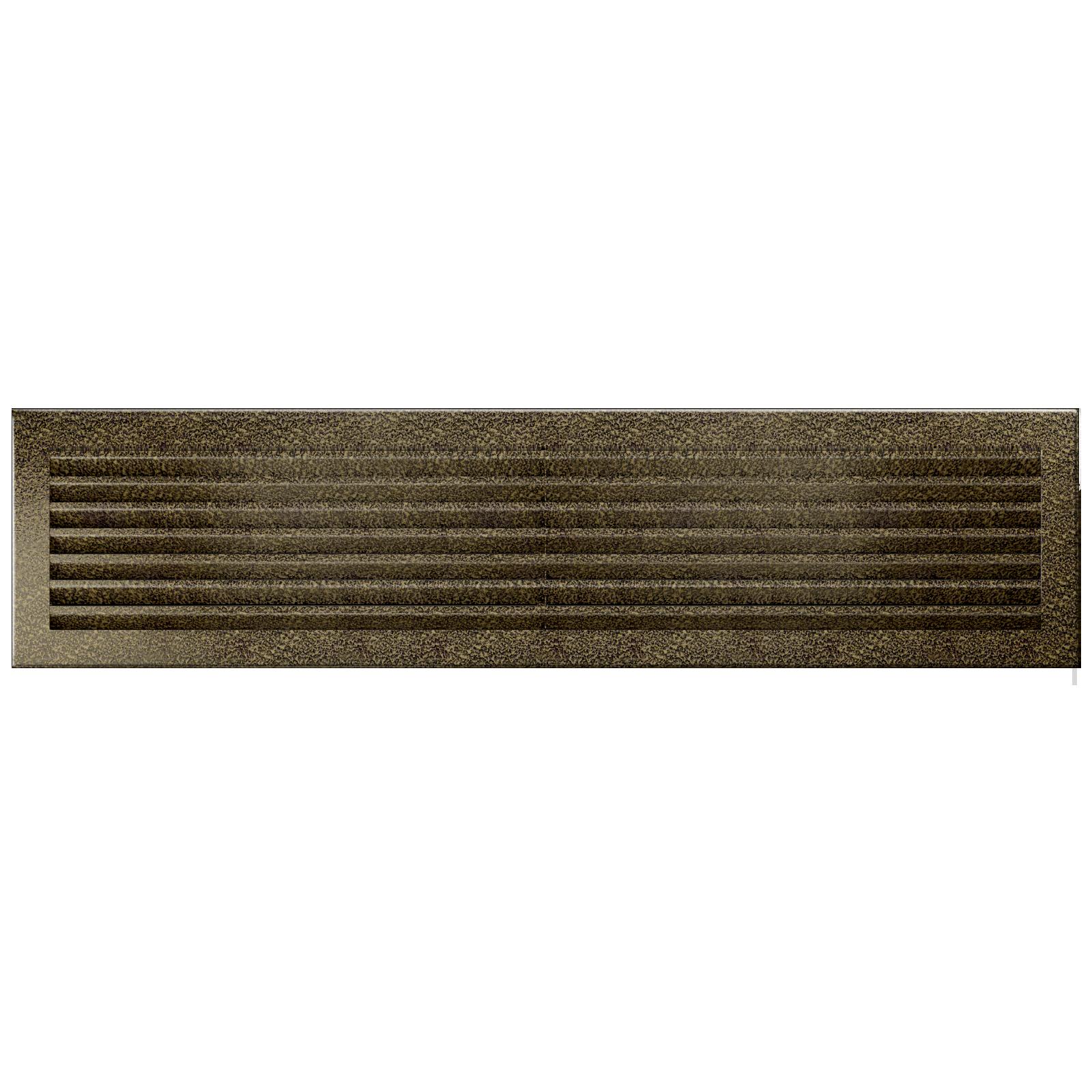Grila FRESH NEGRU-AURIU 17x70